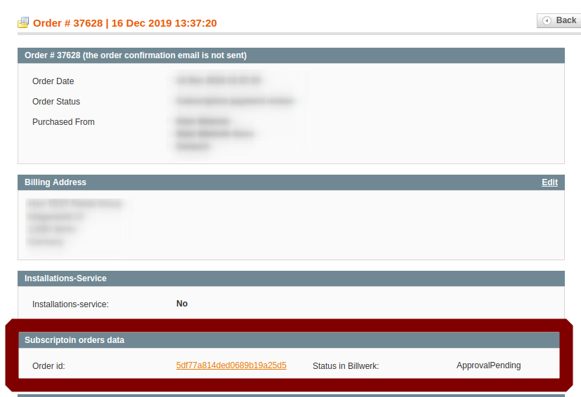 Subscription selling in Magento