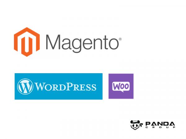 Online store Magento 2 and WordPress plugin called WooCommerce