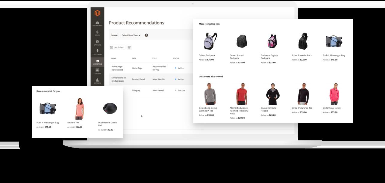 Magento e-commerce platform open source type